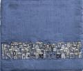 Blue Tallit Bag Jerusalem (EM-TBL-8D)