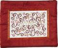 Embroidered Tefillin Bag Maroon (EM-FMD-5)
