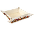 Emanuel Embroidered Folding Basket Jerusalem (EM-MB-1)