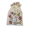 Embroidered Spice Bag Floral (EM-BBE-4)