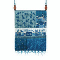 Emanuel Bag Patches & Embroidery Jerusalem Blue (EM-PBE-3B)