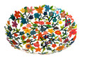 Bowl- Small Laser Cut+ Hand Painting- flowers (EM-BOS3)