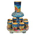 Yair Emanuel Wooden Kiddush Fountain - Jerusalem (EM-FN1)