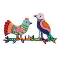 Emanuel Laser Cut Key Holder- Birds (EM-WHF1)