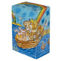 Yair Emanuel Rectangular Tzedakah (Charity) Box -Noahs Ark TZS-9
