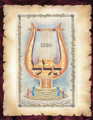 Extra Large Vinyl Poster Designed by Rabbi Yonah Weinreb-- Hallel (PKL101)