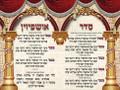Extra Large Vinyl Poster--Usphizin 2 Nusach Ashkenaz (PKL11A)