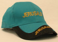 Turquoise and Black Cap - Jerusalem (I-IC#19)