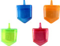 "Fillable Dreidels-- Large 3"" x 3.5"" (4 in a pack) (DR-600106)"