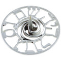 "Silver Plastic Dreidel--3.5"" (60 in a pack) (DR-D600930)"