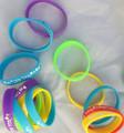 Multicolor Silicone Bracelets-- Mazal Tov (18 Pack) (D30-0263)