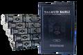 Talmud Babli Edicion Tashema - Hebrew/Spanish Gemara Shabat Vol 1 / Tratado de Shabat Vol. 1 -- Medium Size (BKS-TABS3)