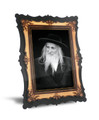 "Gedolim Portrait on Wood with 2 Ways to Display 9"" x 12"" - סטמר רב (RP8 SPECIAL)"