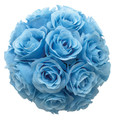 "8"" Rose Ball, Multiple Colors (CLA-20160294)"