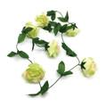 6' Rose Garland, Green - Pack of 12 (CLA-20160220G)
