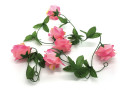 6' Rose Garland, Pink - Pack of 12 (CLA-20160220P)