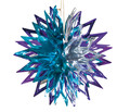 "Blue and Silver Ball - Pack of 12 - 12"" (71264)"
