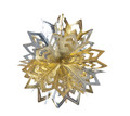 "Gold and Silver Ball - Pack of 12 - 8"" (71266)"