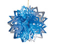"Blue and Silver Ball - Pack of 12 - 8"" (71267)"