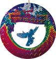 Metallic Hanging Bird Decoration - 12 Packs of 2 (PL-204)