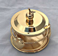 Gold Honey Dish (HD-P393Z)