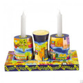 EM-HA2 Wooden Shabbat and Havdallah Set- Jerusalem