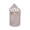 Emanuel Hammered Memorial Candle Holder-- Yizkor (EM-NNA2)