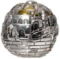 Jerusalem Round Ball Candle  (361)