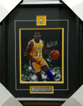 Magic Johnson Lakers Signed 8x10 Framed