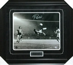 Pele Signed Brazil 16x20 Framed