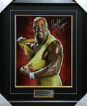 Hulk Hogan Python Power Signed 16x20 Framed