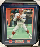 Jim Kelly Signed Framed 16x20 Buffalo Bills