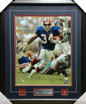 Thurman Thomas Front Signed Framed 16x20