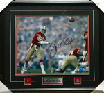 Joe Montana Missile Signed Framed 16x20