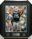Howie Long Signed Framed 16x20