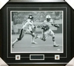 Earl Campbell Oilers Signed Framed 16x20