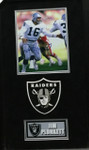 Jim Plunkett With Raiders Logo Signed 8x10 Framed