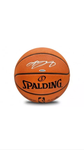 LeBron James Autographed Pro Basketball