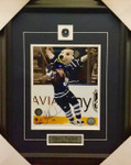Darcy Tucker Signed Maple Leafs 8x10 Framed Goal