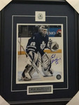 Ed Belfour Signed Maple Leafs 8x10 Framed