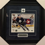 Brian Leetch Signed Maple Leafs 8x10 Framed