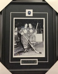 Dick Duff Signed 8x10 Framed
