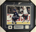 Tomas Kaberle Signed Maple Leafs 11x14 Framed