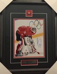 Carey Price Signed 8x10 Team Canada Framed