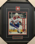 Max Pacioretty-Action Signed 8x10 Canadiens Framed