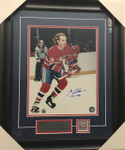 Guy Lafleur Signed 11x14 Canadiens Framed