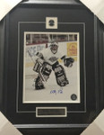 Kelly Hrudey Signed 8x10 Framed