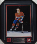 Guy Lafleur Montreal Canadiens Signed Framed 16x20