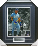 Bo Jackson 'Bat Break' KC Signed 11x14 Framed