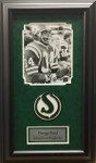 George Reed Roughriders Signed Framed 8x10